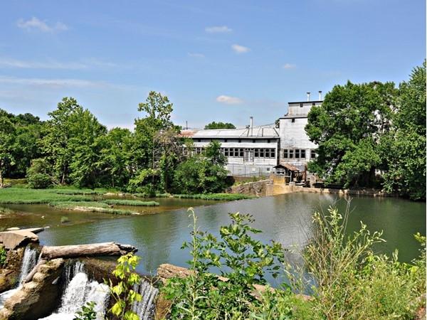Hawkins Mill on the Finley River in Ozark