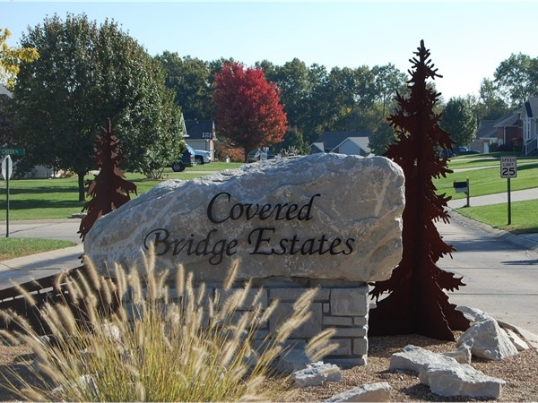 Beautiful quiet subdivision just outside city limits