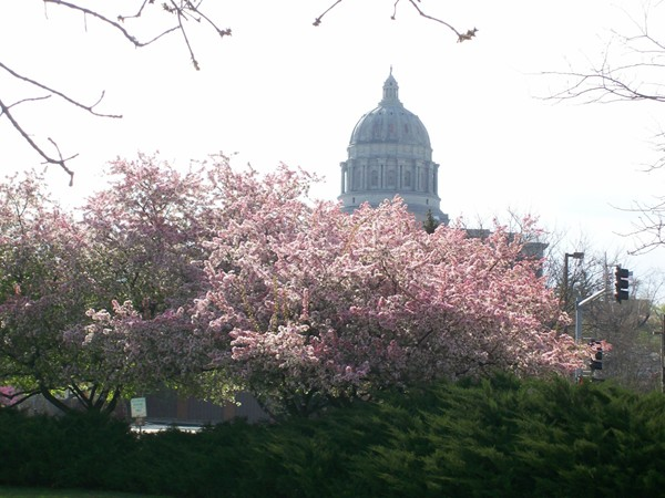 Spring at the Missouri State Capitol