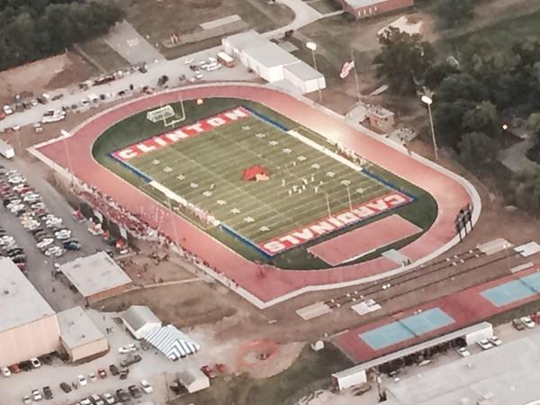 Clinton Cardinals High School Football