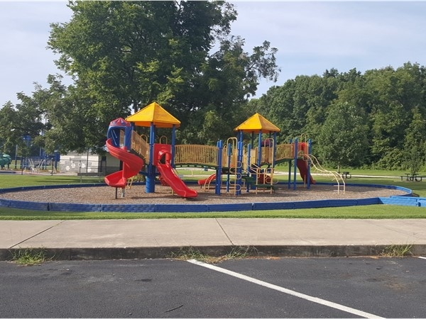Playground at the Cassville City Park