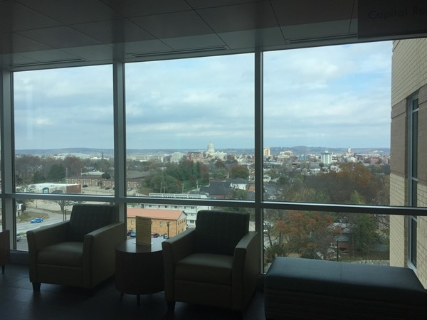 Amazing views from 3rd floor OB and General Surgery wings of the new Capital Region expansion