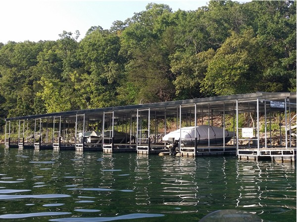 Boat dock on Table Rock Lake