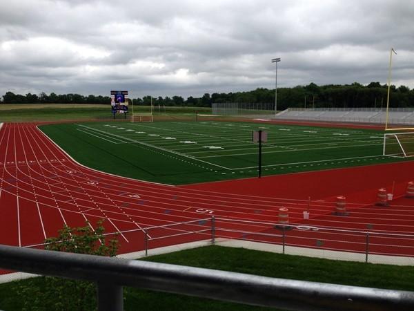 Football field at Battle High School