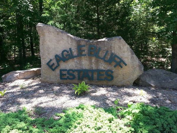Eagle Bluff Estates - an upscale neighborhood