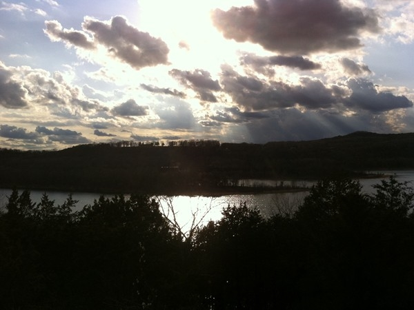 We have some amazing lake views on Table Rock Lake