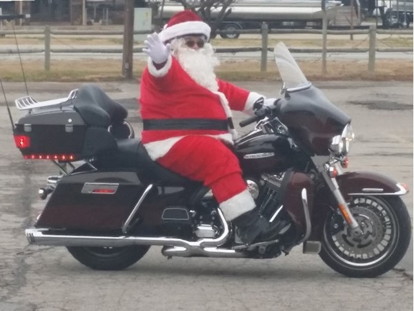 Santa has arrived in Shell Knob