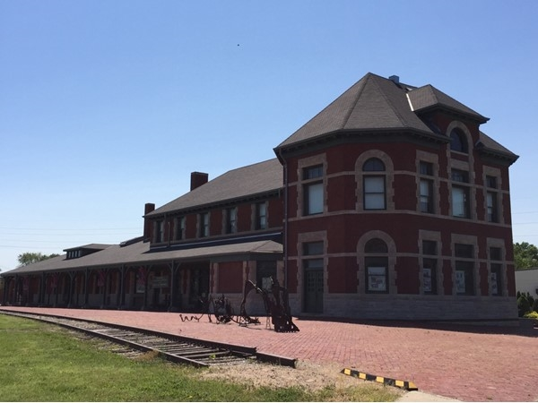 Historical Katy Depot . . . Enjoy the gift shop and museum