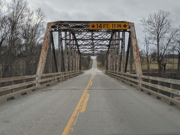 Beautiful bridge over Flat Creek