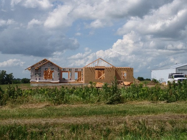 New construction underway just west of Higginsville