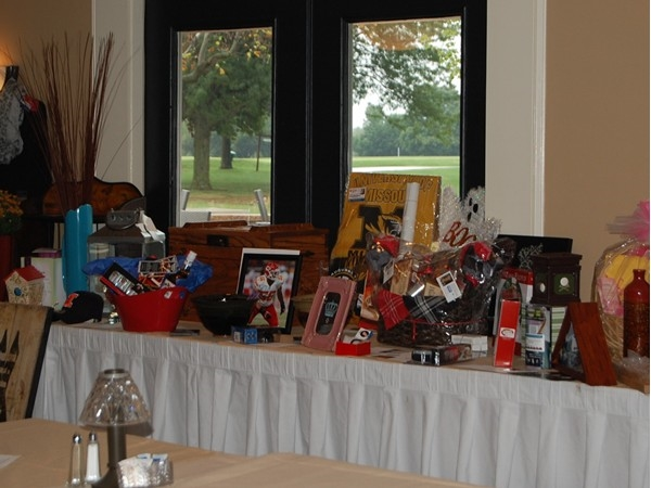 The RPAC auction was a big success and was held at the Sedalia Country Club