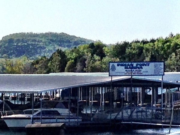 Nearby dock for boat rentals, restaurant and family fun