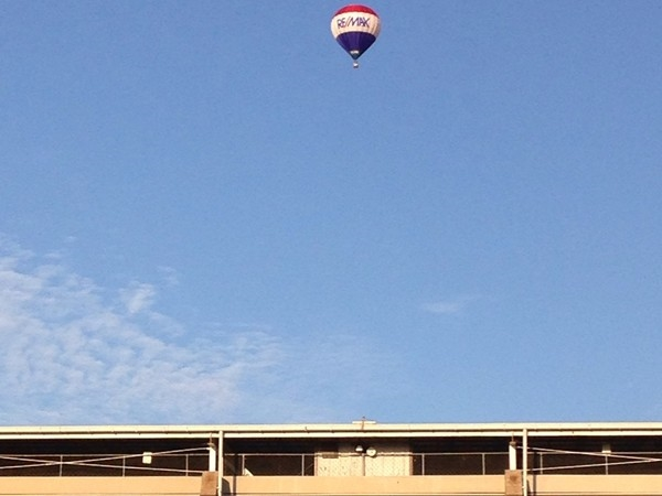 Flying high over the Missouri State Fairgrounds