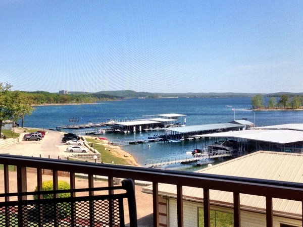 View of Table Rock Lake from a lakeside restaurant