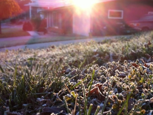 The first frost of the season has fallen upon Jefferson City