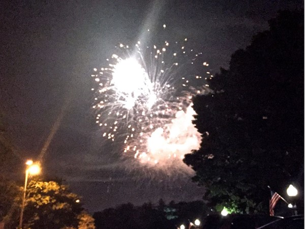 Jefferson City's salute to America brought hundreds of residents to the Capital to watch fireworks