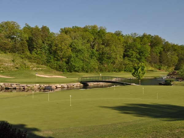 Ledgestone Golf Course Practice Green