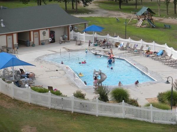 Summer fun at the pool at Paradise Point