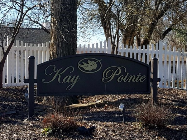 Kay Pointe subdivision entry