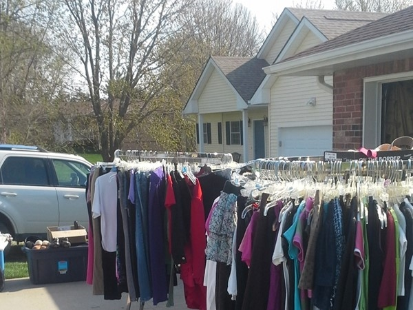 Annual Lake Viking garage sales- yes please-100+ lots with everything from clothes to boats for sale