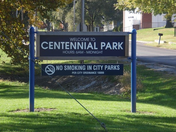 Check out Centennial Park in Sedalia! It's the second largest park in town, sitting on 39 acres
