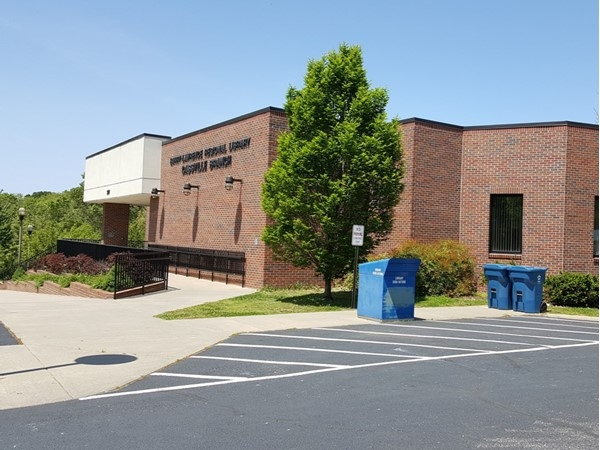 Barry County Library located in Cassville.  This is a very impressive library!  Make sure and visit