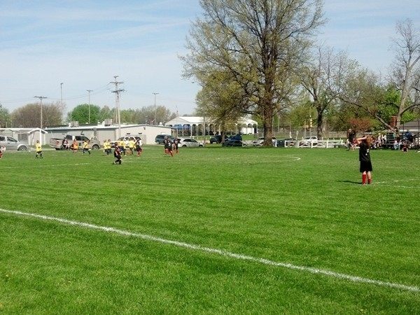 Pretty May day for some youth soccer in Higginsville