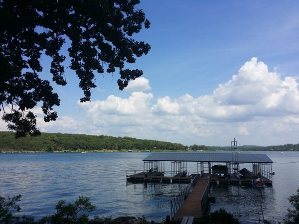 Beautiful day at Table Rock Lake, Shell Knob