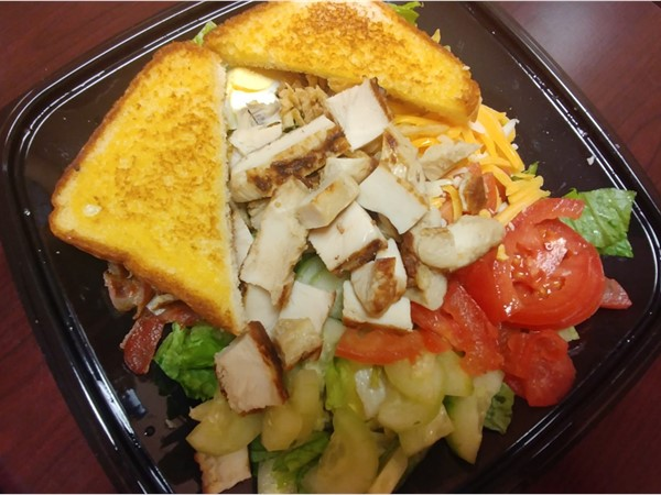The Grilled Cobb Salad from Zaxbys in Warrensburg is one of the best