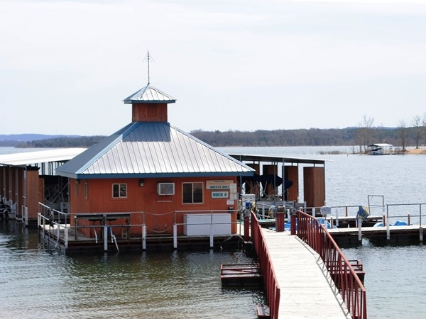 Indian Point Resorts has their own marina
