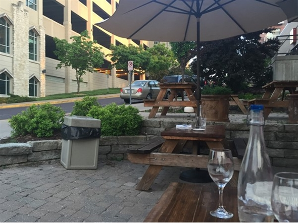 Patio dining is a great feature of local restaurants downtown in The District
