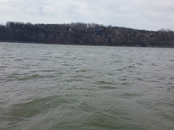 Come on spring!! Fish were biting today at Table Rock Lake