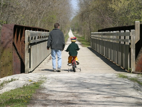 A walk on the Katy Trail