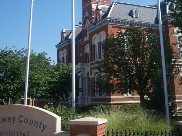 Nodaway County Courthouse in Maryville