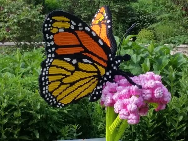 Lego of my flower!  Powell Gardens