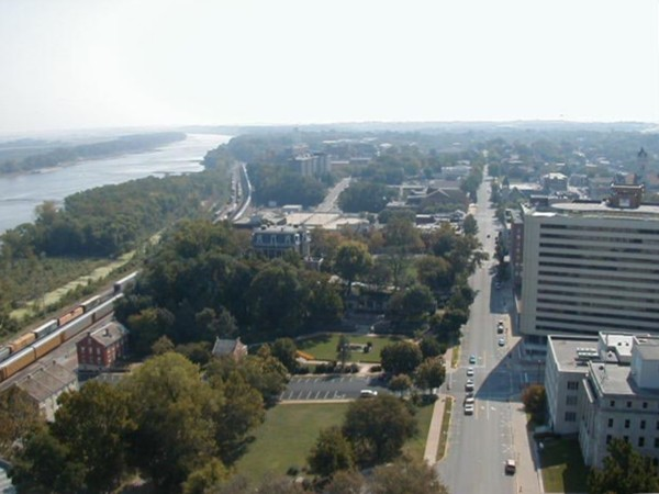 Looking east from the Capitol dome