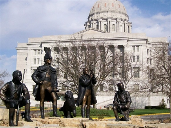 The Lewis and Clark Monument