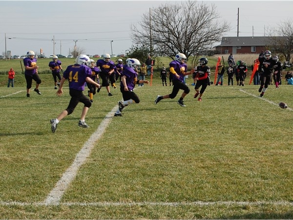 Youth football championship game held at Smith-Cotton High School, Sedalia