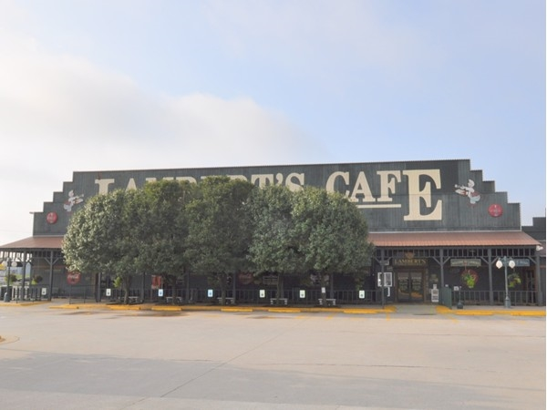 Lambert's Cafe - Home of the Throwed Rolls -  Ozark