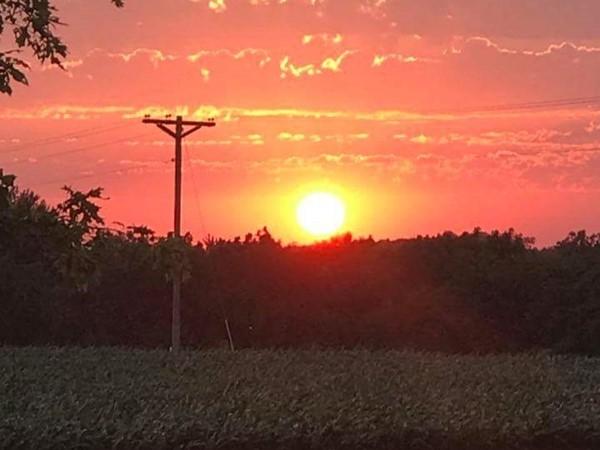 Beautiful masterpiece in rural Lexington on a June summer night