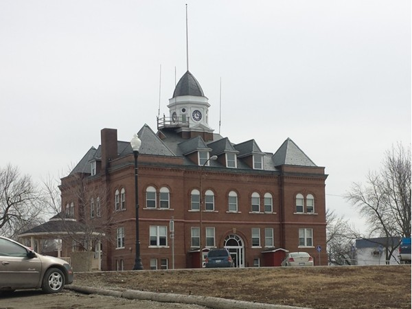 Worth County Courthouse on the Square in Grant City