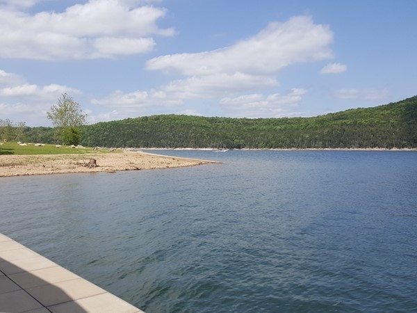 Table Rock Lake has many beautiful views!  Visit this spring and summer for great lake activities