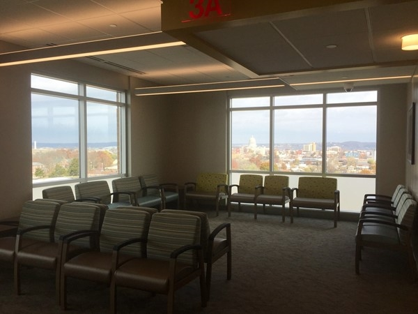 Capital Region Medical Center expansion. Views from 3rd floor OB and General Surgery wings