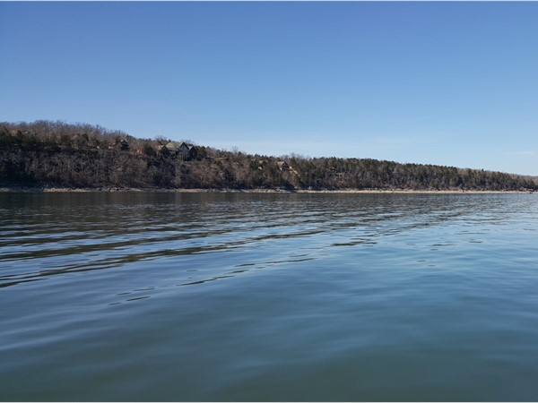 I cannot believe I was fishing in a tee shirt on Table Rock Lake in February!  Gorgeous day