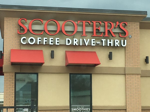 Scoot on down to Scooters Coffee and try their breakfast sandwiches and mocha frappe