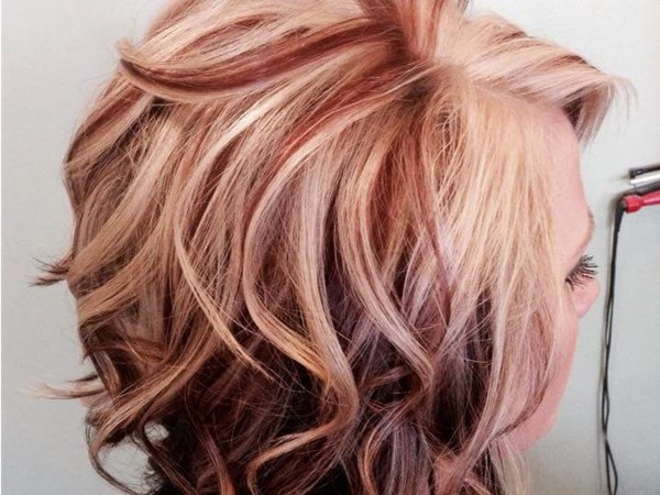 Beautiful hair color by Spalona's full service salon in Lebanon