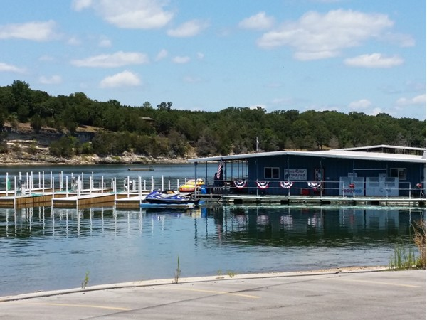 Kings River Marina on Table Rock Lake, Shell Knob