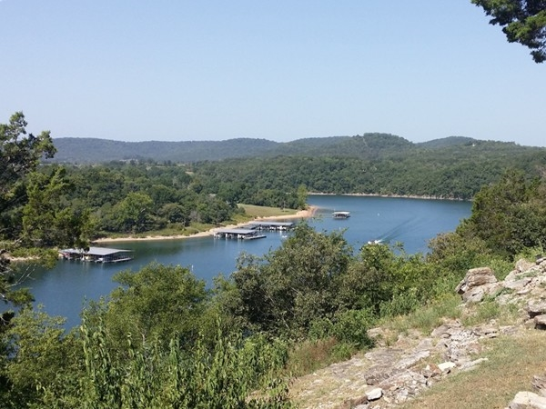 Scenic view of Table Rock Lake
