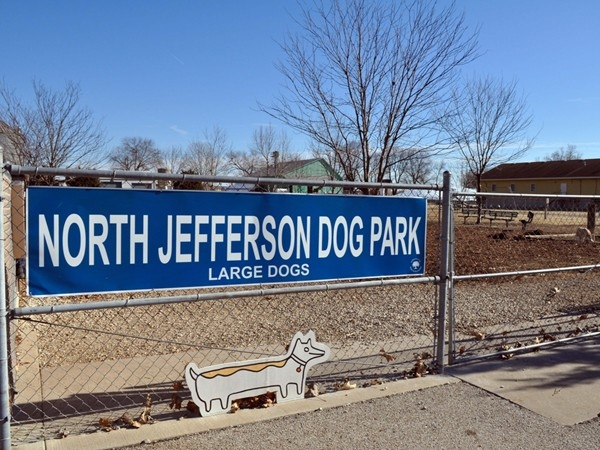 Fun for our four legged friends at the North Jefferson City Dog Park