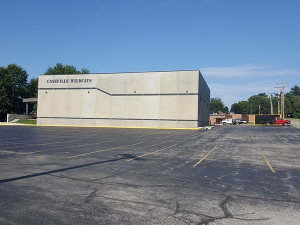 FEMA Storm Shelter located at the Cassville Middle School
